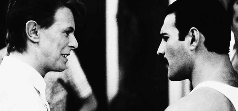 David Bowie e Freddie Mercury